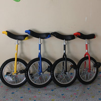 "Children bicycle 24"" single wheel unicycle for kids & adult Red color Height adjustable Alloy rim CE/ASTM F963-11 Approved"