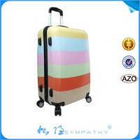 best 20' inch airplane abs pc luggage trolley and suitcase