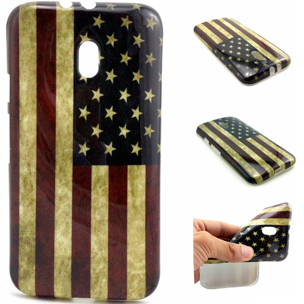 2015 National Flag Owl Design printed TPU case for Motorola Moto G3, For Motorola Moto G3 TPU case