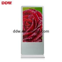 "Drop ship price 55"" floor standing lcd media player in metal cabinet free download windows gsm codec digital signage network"