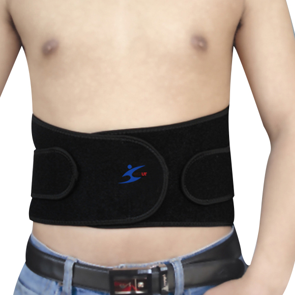 Eco friendly neoprene material back support belt