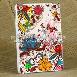 wholesale butterfly cover for ipad mini ,white edges