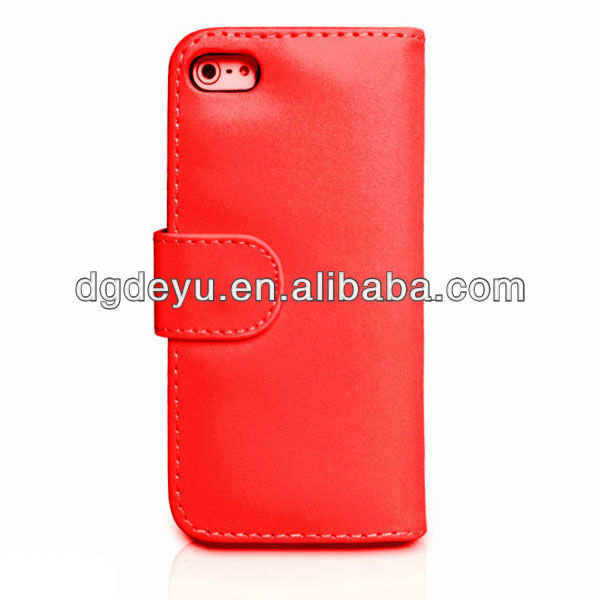 PU leather case for apple iPhone