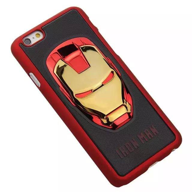 Buy Cool 3D Hero Avengers Iron Man Ironman Hard Shell Capa Cases ...