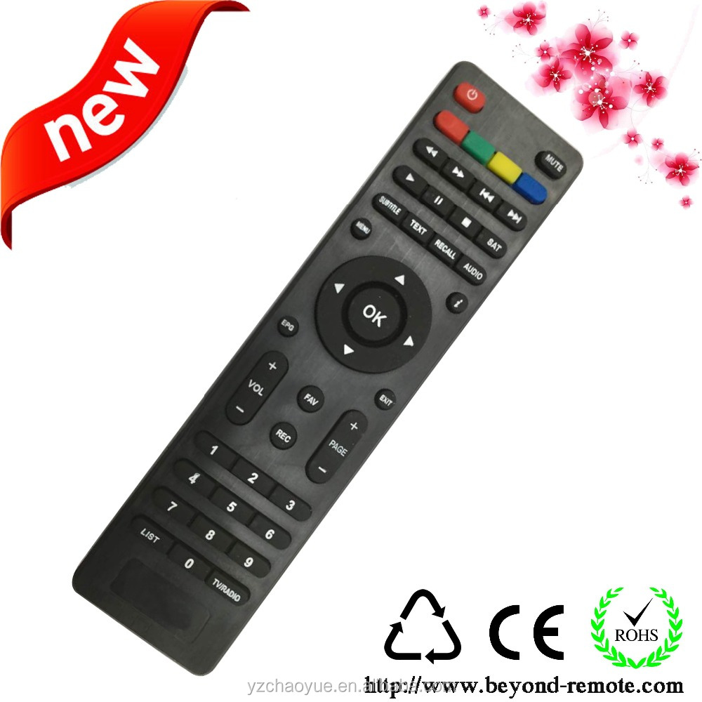 universal tv remote control for receiver satellite