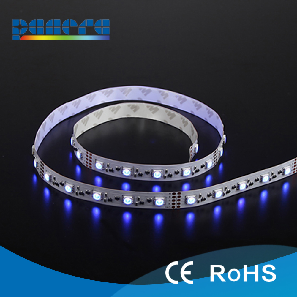 CE/RoHs RGBW/RGB SMD 5050 flexible led strip 50LED/<strong>M</strong>