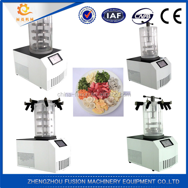 Best Selling fruit and vegetable freeze processing machine/freeze dryer