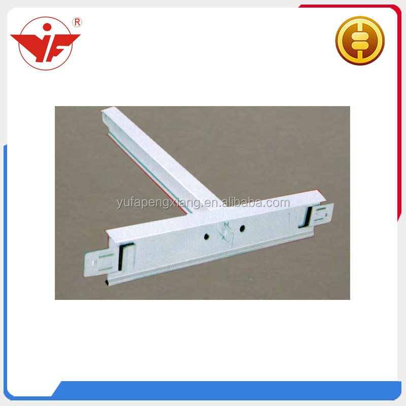 Ceiling T grid cross tee metal T bar suspended ceiling T bar roll forming machine