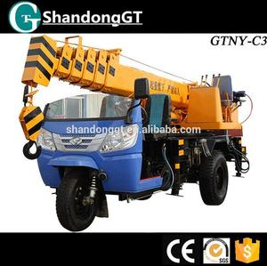 3 Ton GTNY-C3 mini truck mounted crane on sale