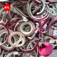 Wholesale IQf Sliced Red Frozen Onion from China