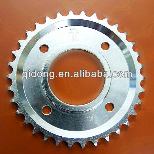 Black Electroplate suzuki gn250 parts/sprocket