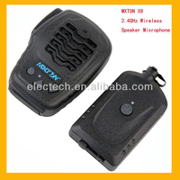 New Black High-fidelity 14-level electronic volume control MXTON 2.4GHz Wireless IP54 Super Anti-interference Speaker MIC