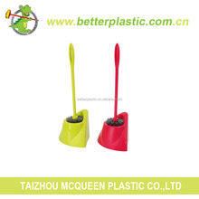 High Quality Wholesale Household Novelty Toilet Plastic Brush Holder Clean Brush Set