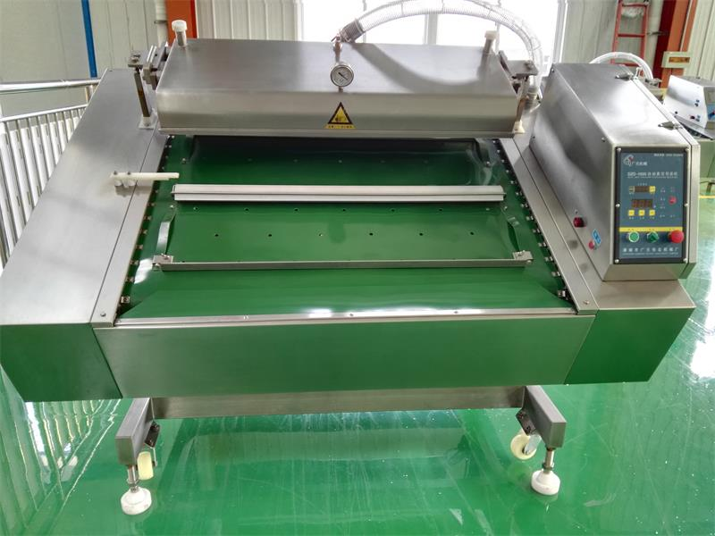 DOBEST packing machine/continuous vacuum packing machine/vacuum cooked food packing machine