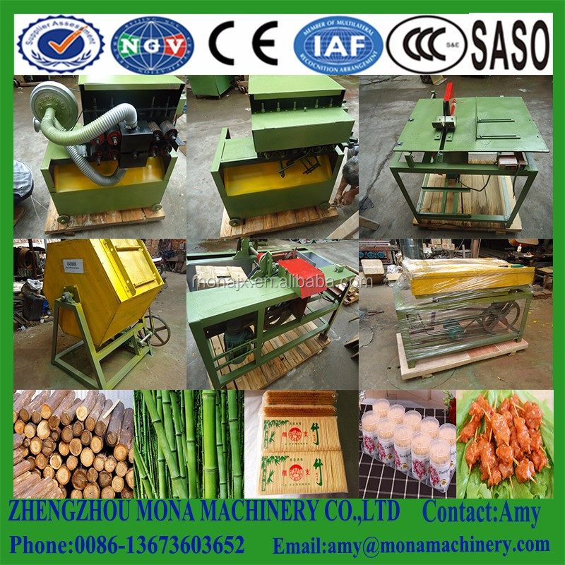 roast bamboo skewer making machine/Bamboo Sawing machine/Bamboo Toothpick Making Production Line