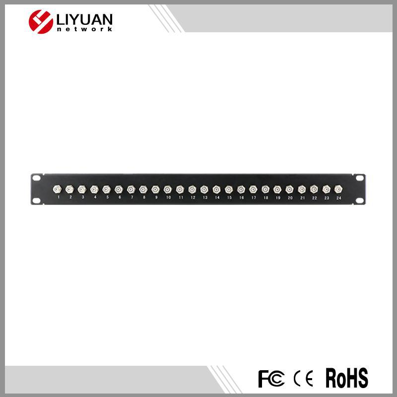 LY-PP5-31 24 port bnc/F patch panel