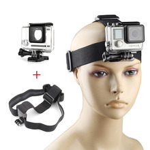 QIUNIU Waterproof Underwater Diving Housing + Head Strap Mount Accessories for GoPro Hero 4 3+ 3