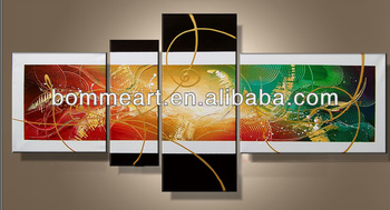 hand-painted wall arth ome decoration landscape oil painting on canvas Q20121184