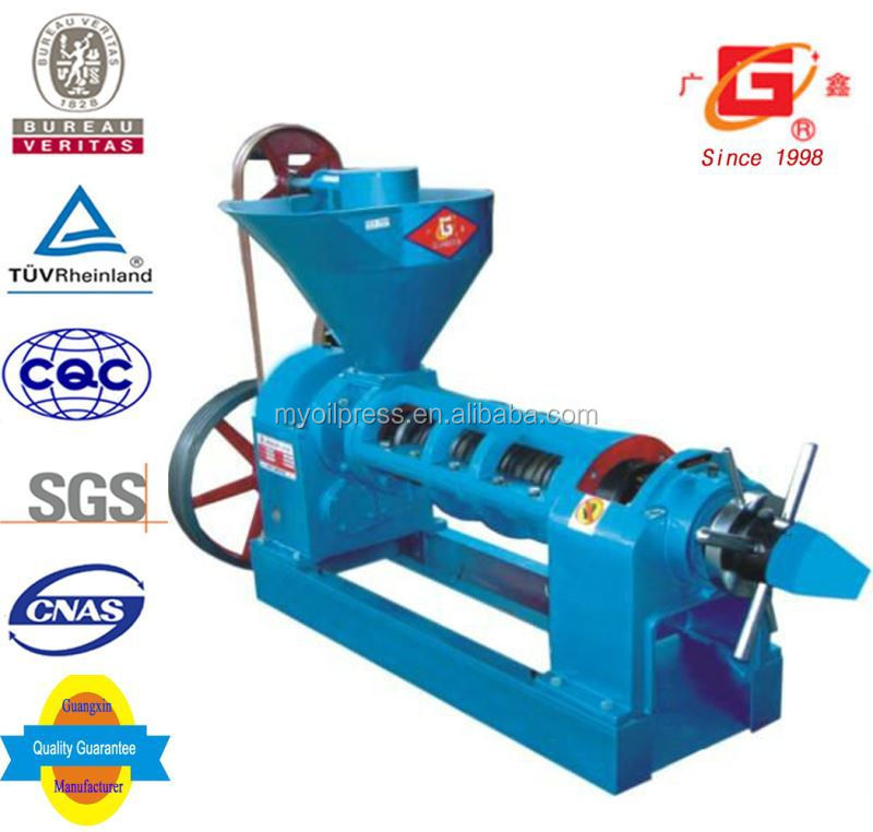 new agricultural machines jatropha oil cold and heat screw press automatic oil milling machine