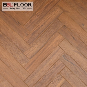 Art herringbone oak parquet laminate wood floor tiles
