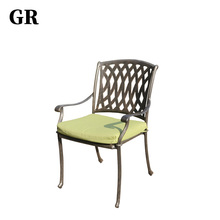 New Design European Style Luxury Outdoor Garden Furniture Aluminum Chair