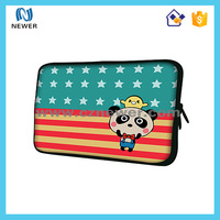 Durable hot selling soft neoprene handle laptop sleeve for men