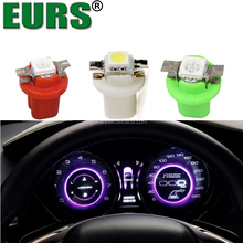 2017 5050 SMD LED Lamp Auto Wedge Dashboard Lights Indicator Instrument Lights B8.5 Car Gauge Speedo Dash Bulbs