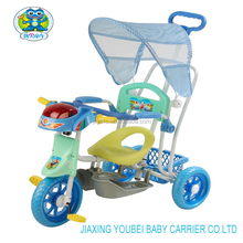 Wholesale lovely kids push chinese tricycle for kids