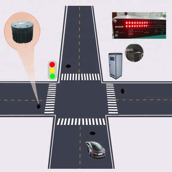 ROSIM Underground รถ Detection Sensor Magnetometer สำหรับ Traffic Light