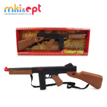 Big size kids plastic electric toy gun safe with light and sound