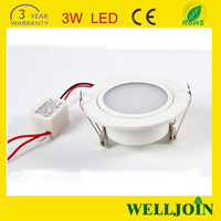 Led Downlight Manufacturer: 2.5 inch 3w Mini 80mm Cut Out Round Led Downlight