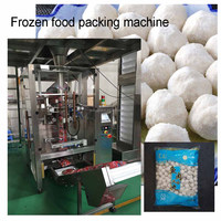 2017 new design multi function full automatic frozen meat ball packing machine