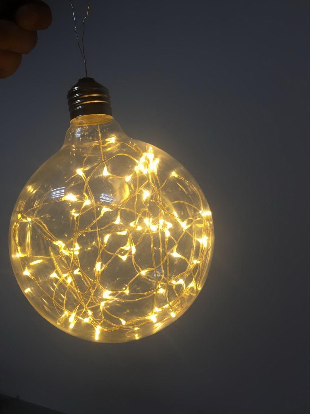 12V led copper string light for wedding E26 Twinkle led bulb 120V 220V decorative lighting, View ...
