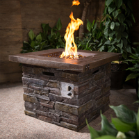 30Inch Outdoor Gas Fire Pit Table//LP Gas Outdoor Fire Pit Table with CSA/CE Certificate