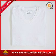custom bulk wholesale white t shirt manufactures in Guangzhou factory directly