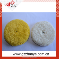 "8"" double side car polishing pad manufacture"