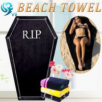 factory 100% Cotton Promotional Advertising funny cotton promotion beach towel