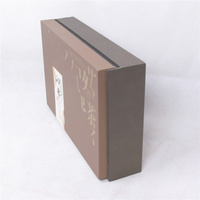 Fast shipping elite custom transparent special paper wine packing box with window