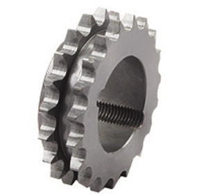 double row taper bored sprocket