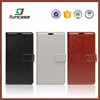 New arrival oem pu leather flip cover mobile phone case for sony