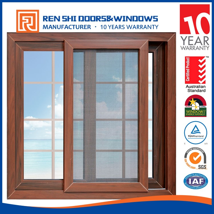 Sound Insulation Water Proof window grills design pictures for sliding windows