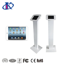 Afsluitbare metalen tablet floor stand voor tablet PC
