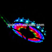 2013 new product LPD8806 5050 IP65 crystal epoxy waterprooof dream color led strip for christmas from china supplier