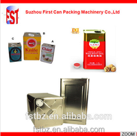 1L~ 4L Olive Oil Tin Can Making Machine production line