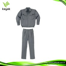 Custom engineering multi-pocket grey coverall uniform industry workwear