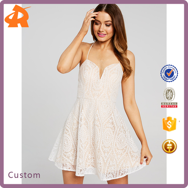 OEM new model woman lace dress,hot selling latest dress patterns ladies