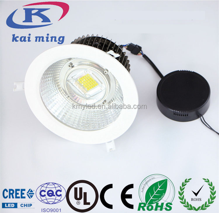 Aluminum die cast recessed ceiling light commercial trimless led downlight