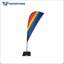 Sales rod banner feather teardrop flag banner
