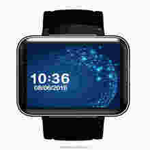 Shenzhen Factory Android 4.4 MTK 6572 sim card wrist watch mobile phone dm98 android smart watch