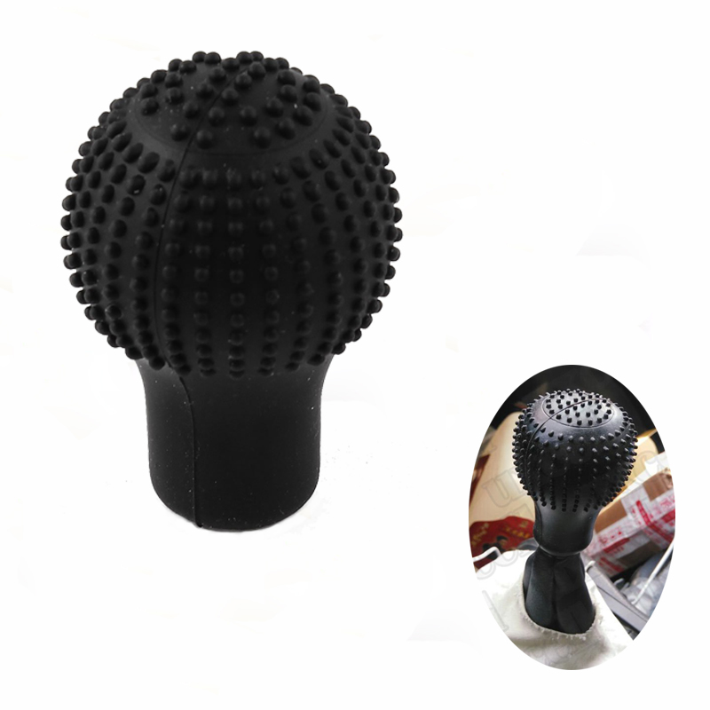 Custom Non-slip Car Automatic Gear Shift Knob Sleeve With High Tension